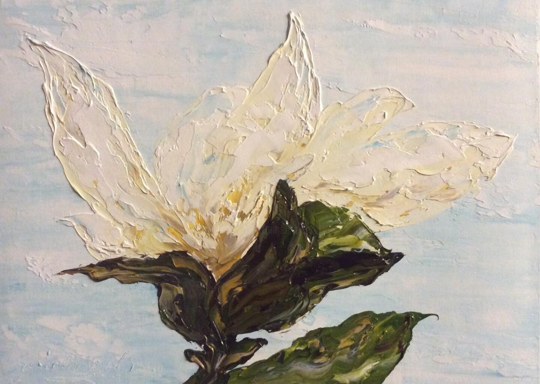 Etienne Guérinaud - Magnolia blanc