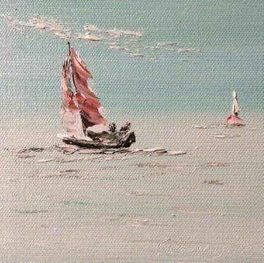 Voilier seule sur l'Ocean