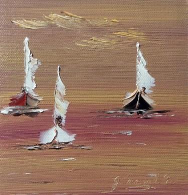 3 voiliers au large