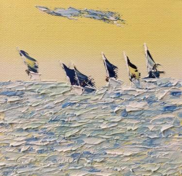 6 voiliers en pleine tempête