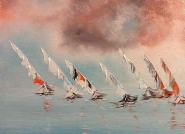 Les voiliers dans la course
